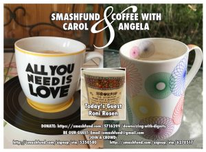 smashfund-and-coffee with Carol & Angela