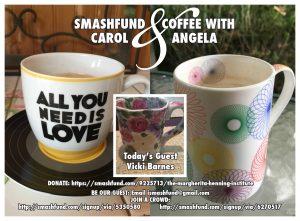Smashfund & Coffee w/ Vicki Barnes